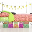 Wake Up Frankie Parisian Isles 2 Piece Duvet Set; Watermelon