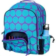 Wildkin Ashley Big Dots Macropak Backpack; Aqua