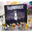 Crystal Clear Game Night 13 Piece Bomber Shot Glass Set