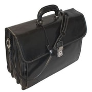 Floto Imports Firenze Briefcase in Black