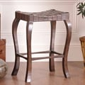 William Sheppee Binks 30'' Bar Stool in Walnut Stain