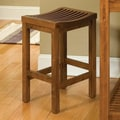Home Styles 24'' Counter Stool in Cottage Oak