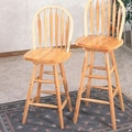 Wildon Home   Ashland 24'' Stool in Natural