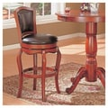 Wildon Home   Lincoln 29'' Bar Chair in Cherry