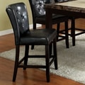 Hokku Designs Lanston Leatherette Counter Height Chair (Set of 2)
