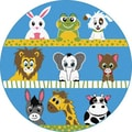TayseRugs Life Animals Kids Rug; Round 3'11''