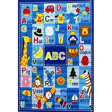 Fun Rugs Fun Time Letters and Names Kids Rug; 3'3'' x 4'10''