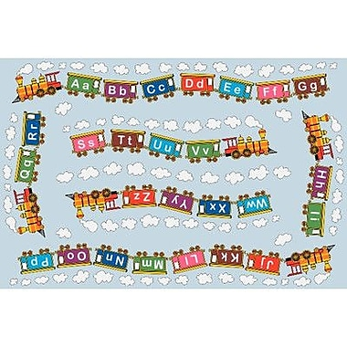 Fun Rugs Fun Time Edu Train Kids Rug; 3'3'' x 4'10''