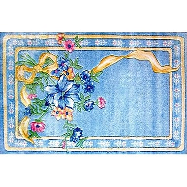 Fun Rugs Supreme Flower Ribbon Kids Rug; 3'3'' x 4'10''