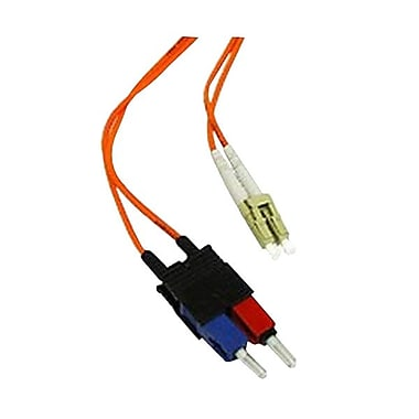 C2GMD – Câble à fibre optique multimode, 15m, orange