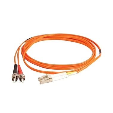 C2G® LC-ST 62.5/125 Multimode Optic Cable