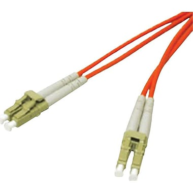 C2G® 50/125 LC-LC Fiber Optic Cable, 10m, Orange