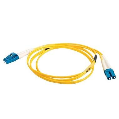 C2G® Singlemode Fiber Optic Cable, 3m, Yellow