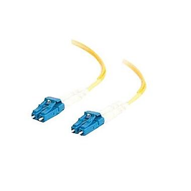 C2G® Singlemode Fiber Optic Cable, 4m, Yellow