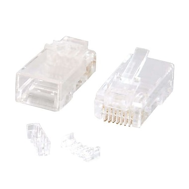 C2G® Clear Modular Plug F/Stranded Cable