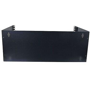 C2G® 4UWallmount Patch Panel Bracket, Black