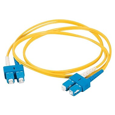C2GMD – Câble à fibre optique, 15 m, jaune