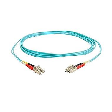 C2GMD – Câble à fibre optique, 4 m, turquoise