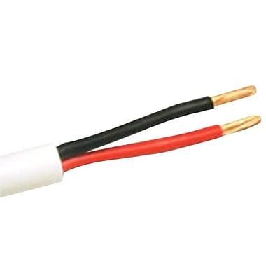 C2GMD – Fil pour haut-parleur encastrable, 500 pi, blanc