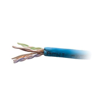 C2G® Cat6 Bulk Plenum Network Cable, 1000'
