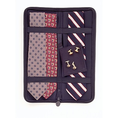 Household Essentials® Travel Tie Case, Black