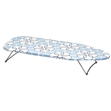Household Essentials® Handy Board® Tabletop Ironing Board, Satin Silver