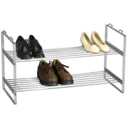 Household Essentials® Stackable 2-Tier Shoe Shelf, Chrome