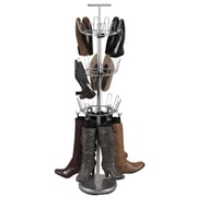 Household Essentials® Boot Tree With Boot Shapers, Satin Silver