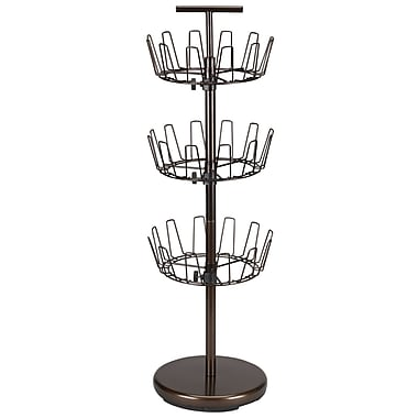 Household Essentials® 3-Tier Shoe Tree, Antique Bronze