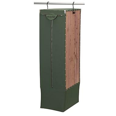 Household Essentials® Design Trend® CedarStow™ Hanging Long Garment Bag, Green