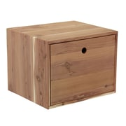 Cedar Fresh® Small Cedar Box With One Drawer, Natural Cedar