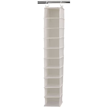 Household Essentials® Wide Hanging Shoe Organizer With 10 Pockets