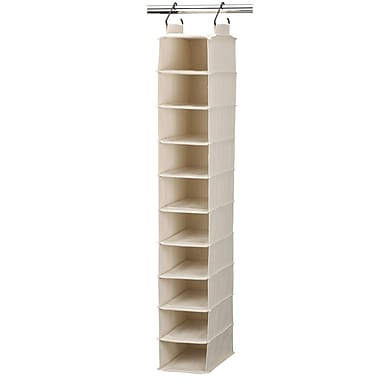 Household Essentials® Hanging Shoe Organizers With 10 Pockets