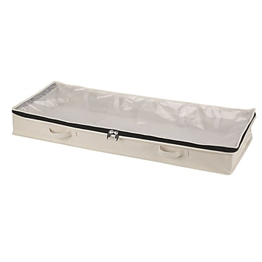 Household Essentials® Under Bed Chest, Natural Canvas