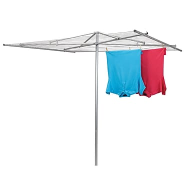 Household Essentials® Mid-Size 30-Line Parallel Outdoor Air Clothes Dryer, Steel