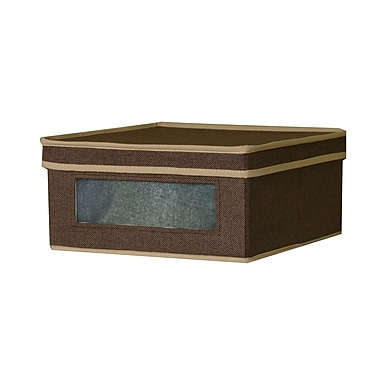 Household Essentials® Small Vision® Box, Coffee Linen
