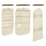 Household Essentials® 3-Piece Hanging Organizer Set, Ivory