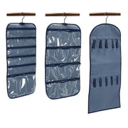 Household Essentials® 3-Piece Hanging Organizer Set, Blue