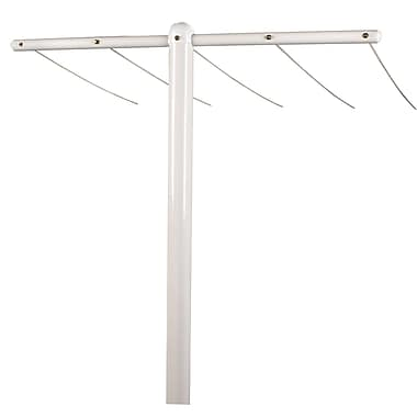 Household Essentials® Mega T-Post Outdoor Clothesline Assembly