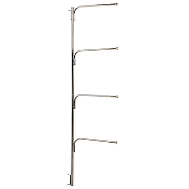 Household Essentials® Hinge-It® Clutterbuster™ Family Towel Bar, Chrome