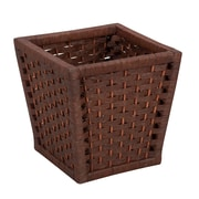 Household Essentials® Paper Rope Waste Basket, Brown