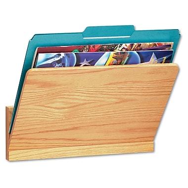 Carver Legal/Letter Wall File Pocket, Oak