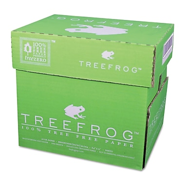Tree Frog by Tree Zero, 100% Tree-Free Multipurpose Paper, 20lb., 8 1/2in. x 11in., White, 2,500/Case
