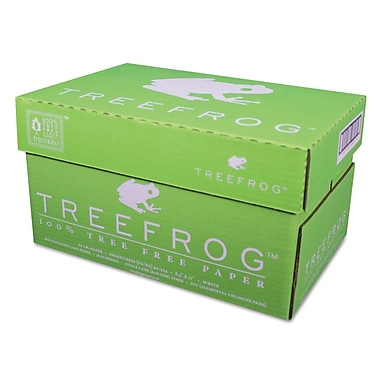 Tree Frog by Tree Zero, 100% Tree-Free Multipurpose Paper, 20lb., 8 1/2in. x 11in., White, 5,000/Case