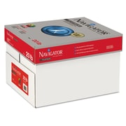 "Navigator™ Platinum 20 lbs. Multipurpose Paper, 11"" x 17"", Bright White, 2500/Carton"
