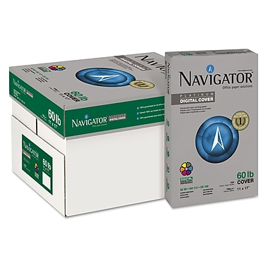 Navigator™ Platinum 60 lbs. Multipurpose Paper, 11