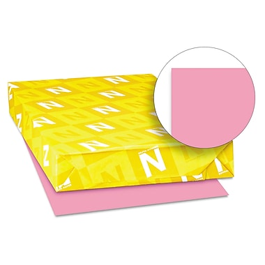 Neenah Paper Astrobrights® 24 lbs. Colored Paper, 11in. x 17in., Pulsar Pink, 500 Sheets/Ream