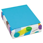 "Mohawk BriteHue Multipurpose Colored Paper, 8 1/2"" x 11"", Blue, 500 Sheets/Ream"