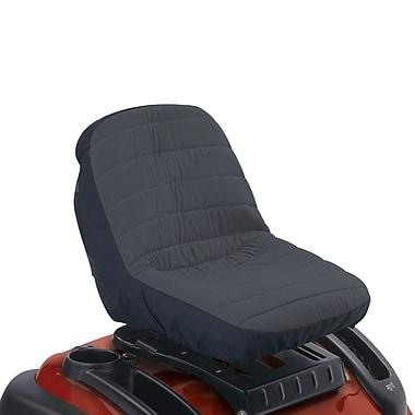 Classic Accessories® Deluxe Tractor Seat Cover, Black/Gray, Small