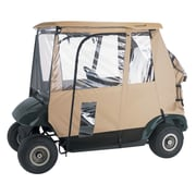 Classic Accessories® Fairway™ Deluxe 3 Sided Golf Cart Enclosure, Sand